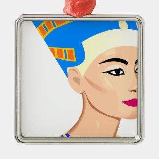 cleopatra metal ornament