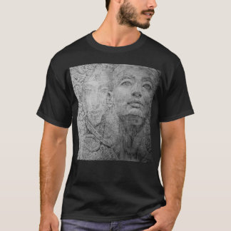 Cleopatra on Basic Dark T-Shirt