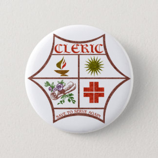 Cleric 2 Inch Round Button