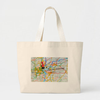 Clermont-Ferrand, France Large Tote Bag