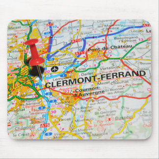 Clermont-Ferrand, France Mouse Pad