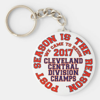 Cleveland 2017 Central Division Champs Keychain