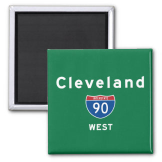 Cleveland 90 square magnet
