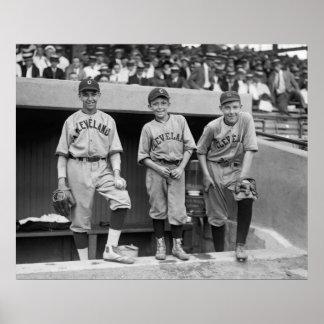 Cleveland Ball Boys 1922 Print