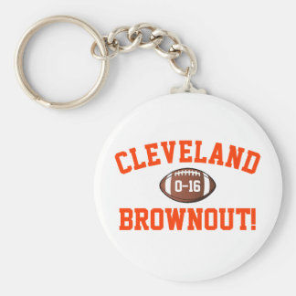 Cleveland Brownout! Keychain