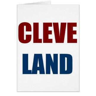 CLEVELAND CARD