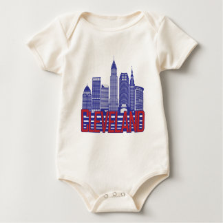 Cleveland City Colors Baby Bodysuit