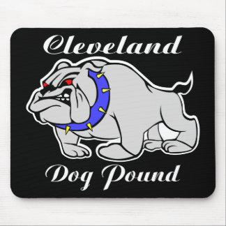 Cleveland Dog Pound Black Mouse Pad