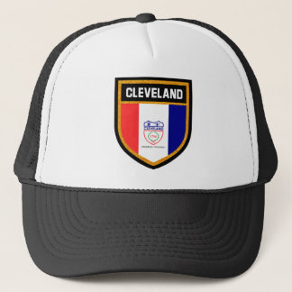 Cleveland Flag Trucker Hat
