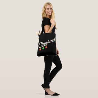 Cleveland in Lights Tote