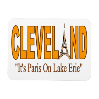 Cleveland, It's Paris On Lake Erie Magnet