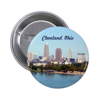 Cleveland (Lake View) 2 Inch Round Button