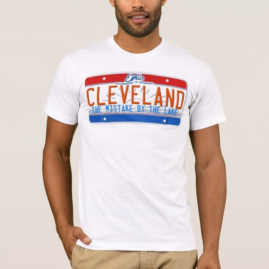 CLEVELAND LICENSE PLATE SHIRT