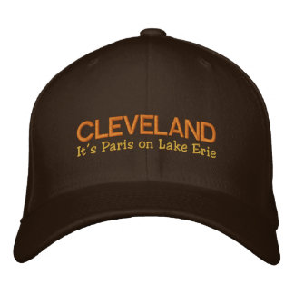 Cleveland, OH  It's Paris On Lake Erie Embroidered Embroidered Hat