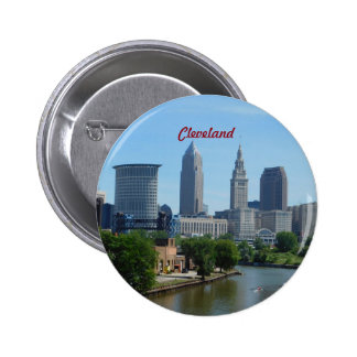 Cleveland OH Riverside Button