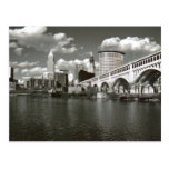 Cleveland Ohio Black and White Postcards