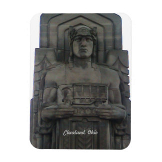Cleveland Ohio  Bridge Guardian Magnet