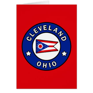 Cleveland Ohio Card
