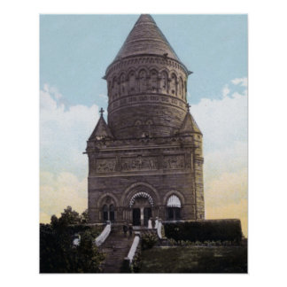 Cleveland Ohio Garfield Monument Poster
