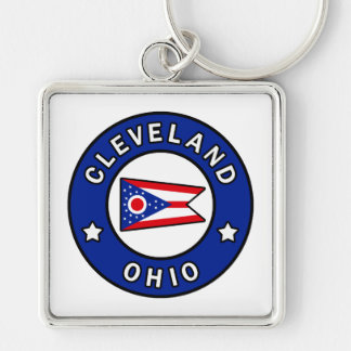 Cleveland Ohio Keychain
