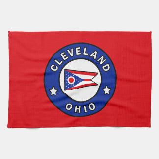Cleveland Ohio Kitchen Towel