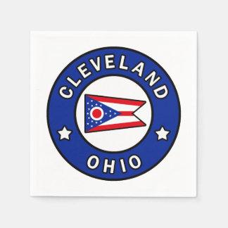 Cleveland Ohio Napkin