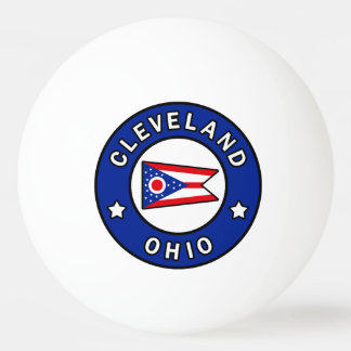 Cleveland Ohio Ping Pong Ball