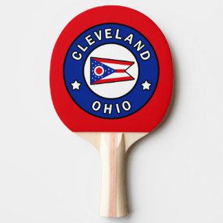 Cleveland Ohio Ping Pong Paddle