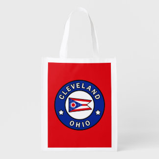 Cleveland Ohio Reusable Grocery Bag