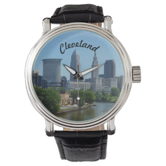 Cleveland, Ohio River Skyline Watch