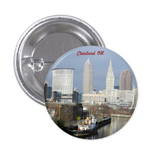 Cleveland, Ohio River View Button