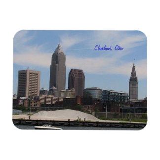 Cleveland, Ohio Skyline Fridge Magnet
