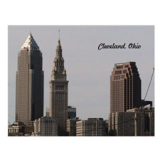 Cleveland Ohio Skyline Postcard