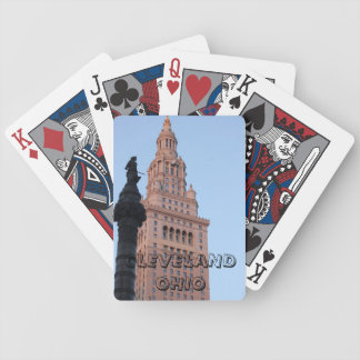 Cleveland Ohio - Terminal Tower Playing Cards
