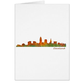 Cleveland Ohio the USA Skyline City v01 Card