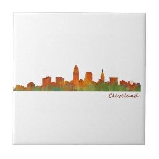 Cleveland Ohio the USA Skyline City v01 Ceramic Tiles