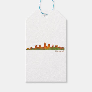 Cleveland Ohio the USA Skyline City v01 Gift Tags