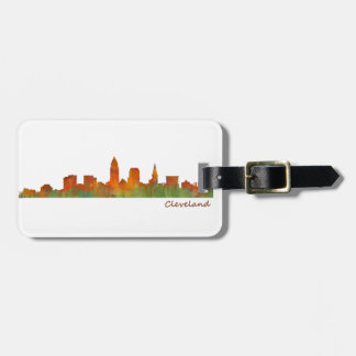Cleveland Ohio the USA Skyline City v01 Luggage Tag