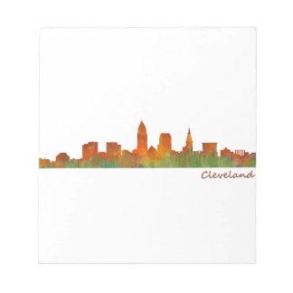 Cleveland Ohio the USA Skyline City v01 Notepad