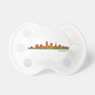 Cleveland Ohio the USA Skyline City v01 Pacifier