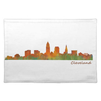 Cleveland Ohio the USA Skyline City v01 Placemat