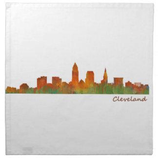 Cleveland Ohio the USA Skyline City v01 Printed Napkin