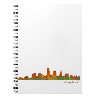 Cleveland Ohio the USA Skyline City v01 Spiral Notebook