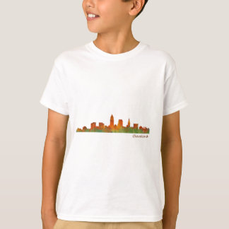 Cleveland Ohio the USA Skyline City v01 T-Shirt