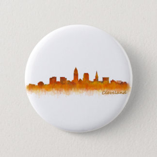 Cleveland Ohio the USA Skyline City v02 2 Inch Round Button