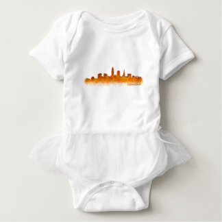 Cleveland Ohio the USA Skyline City v02 Baby Bodysuit