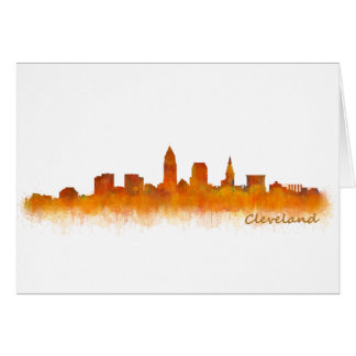 Cleveland Ohio the USA Skyline City v02 Card
