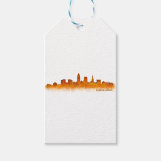 Cleveland Ohio the USA Skyline City v02 Gift Tags