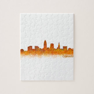 Cleveland Ohio the USA Skyline City v02 Jigsaw Puzzle