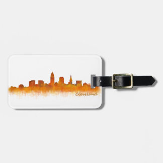 Cleveland Ohio the USA Skyline City v02 Luggage Tag